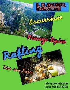 escursioni e rafting in Umbria