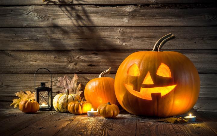Cena e festa di Halloween